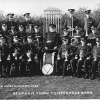 1936 : Reepham Town Band<br /><br />