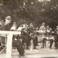 Reepham Town Band in Sennowe Park