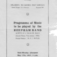 1937 Wellington Pier Gardens, Great Yarmouth