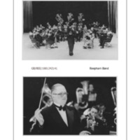 1944 : Reepham Band at the Theatre Royal, Norwich